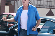 David Hasselhoff Button Down Shirt