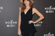 Lou Doillon Little Black Dress