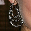 Lucy Hale Dangling Gemstone Earrings