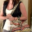 Lucy Hale Handbags - canvas messenger bag