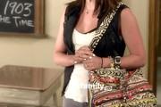 Lucy Hale canvas messenger bag