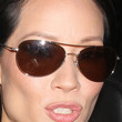Lucy Liu Aviator Sunglasses