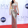 Lucy Liu Clothes - Beaded Dress
