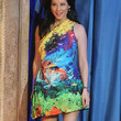 Lucy Liu Clothes - Print Dress