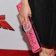 Lucy Liu Satin Clutch
