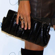 Maria Sharapova Patent Leather Clutch