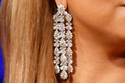 Mariah Carey Dangling Diamond Earrings