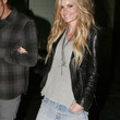 Marisa Miller Clothes - Leather Jacket