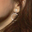 Marisa Tomei Jewelry - Sterling Dangle Earrings