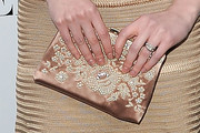 Mary Elizabeth Winstead Satin Clutch