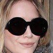 Mary-Kate Olsen Oval Sunglasses