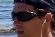 Matthew McConaughey Wrap Around Sunglasses