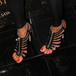 Meagan Good Shoes - Gladiator Heels