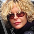 Meg Ryan Rectangular Sunglasses