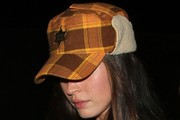 Megan Fox Earflap Wool Cap