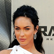 Megan Fox Hair - Half Up Half Down