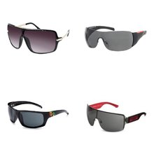 Men's Wraparound Sunglasses