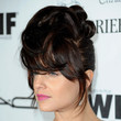 Mena Suvari Hair - Bobby Pinned updo