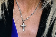 Michaele Salahi Cross Pendant