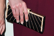 Michelle Dockery Quilted Clutch