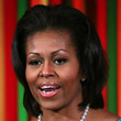 Michelle Obama Hair - Bouffant