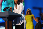 Michelle Obama Button Down Shirt