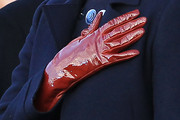 Michelle Obama Leather Gloves