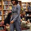 Michelle Obama Clothes - Pantsuit
