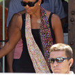 Michelle Obama Accessories - Patterned Scarf