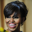 Michelle Obama Hair - Pinned Up Ringlets