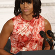 Michelle Obama Print Blouse