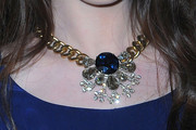 Michelle Trachtenberg Gemstone Collar Necklace
