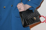 Michelle Trachtenberg Quilted Leather Bag