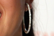 Michelle Wie Diamond Hoops