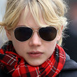 Michelle Williams Aviator Sunglasses