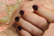 Michelle Williams Dark Nail Polish