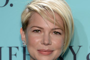 Michelle Williams Layered Razor Cut