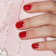 Michelle Williams Beauty - Red Nail Polish