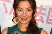 Michelle Yeoh Long Hairstyles