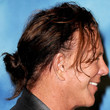 Mickey Rourke Hair - Messy Updo