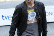Miguel Angel Silvestre Leather Jacket