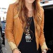 Miley Cyrus Clothes - Leather Jacket