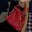 Milla Jovovich Leather Tote