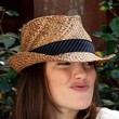 Minka Kelly Hats - Straw Hat