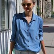 Miranda Kerr Clothes - Button Down Shirt