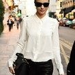 Miranda Kerr Button Down Shirt