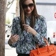Miranda Kerr Clothes - Print Blouse