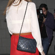Mischa Barton Quilted Leather