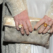 Molly Ringwald Metallic Clutch