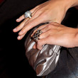Molly Sims Metallic Clutch
